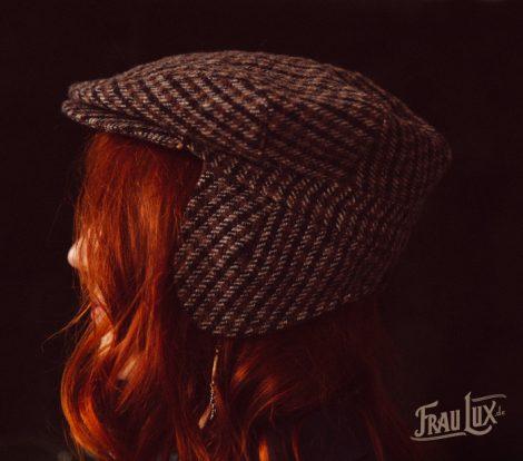 Frau Lux Vintage – 20er Jahre Flatcap kariert