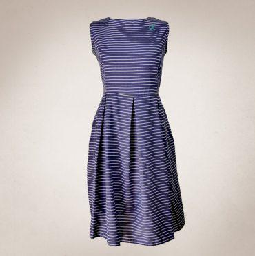 Frau Lux Vintage – maritimes Sommerkleid mit Anker