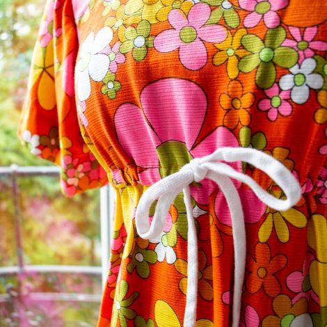 70s Vintagekleid, Frau Lux Vintage, Vintage Vogue, Siebziger Jahre Kleid