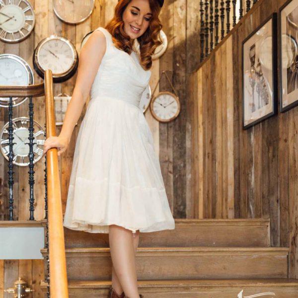 50er Jahre Kleid, Vintage Kleid, Frau Lux Vintage