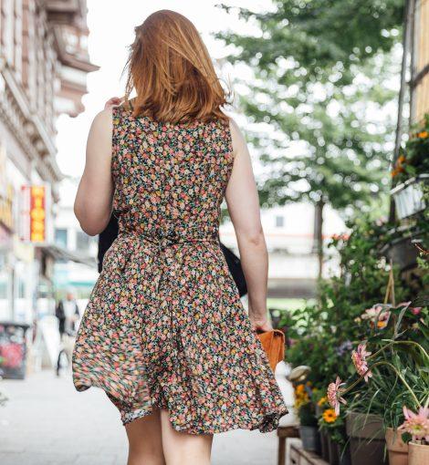 Frau Lux Vintage Kleid