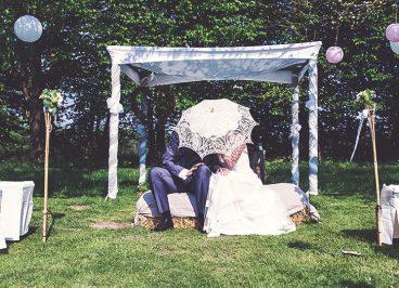Vintage Kleid Hochzeit, Vintagehochzeit, Vintage Brautkleid