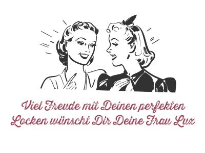 Frau Lux, Schlafwickler, Lockenwickler, Pinup Frisur
