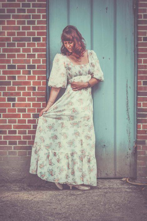 Frau Lux Vintage, Vintage Hochzeitskleid, Vintage Kleid Hochzeit