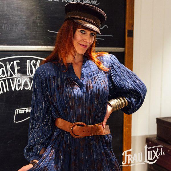 70er Jahre Kleid, Vintage Kleid, Frau Lux Vintage