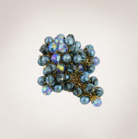 Frau Lux Vintage – Perlenbrosche
