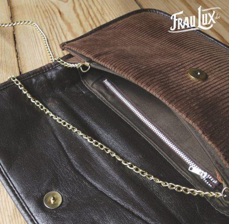 Frau Lux Vintage – Cordhandtasche