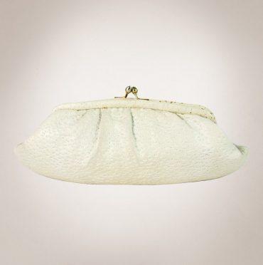 Frau Lux Vintage – Feine Damenhandtasche weiß