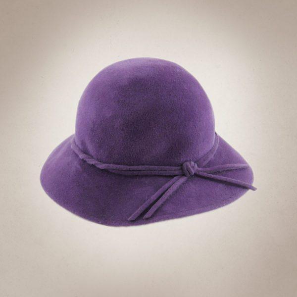 Frau Lux Vintage – Damenhut lila