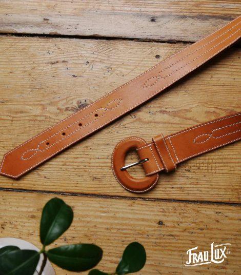 Frau Lux Vintage - Ledergürtel