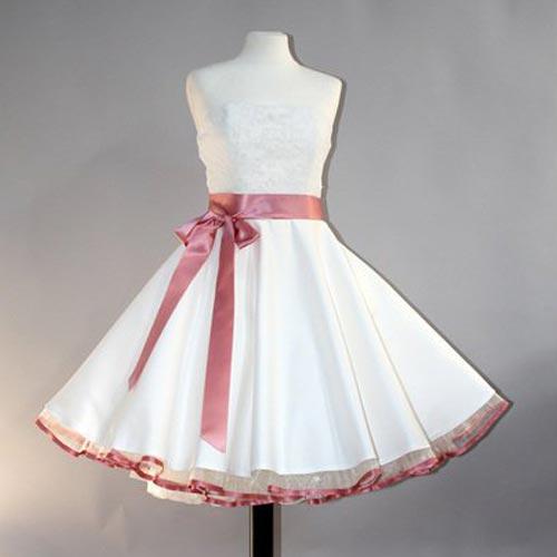 Brautkleid 50er Jahre Frau Lux Vintage