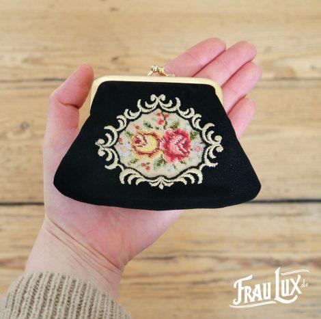 Frau Lux Vintage – kleine Geldbörse