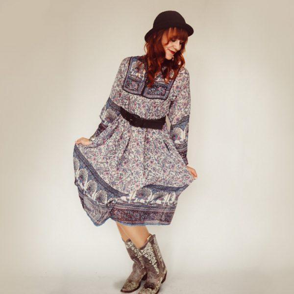 Frau Lux Vintage – Sommerkleid Boho