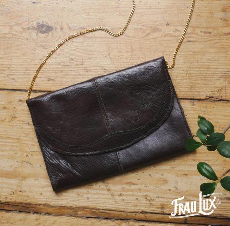 Frau Lux Vintage – Lederhandtasche