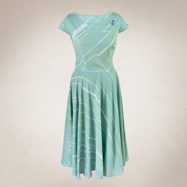 Frau Lux Vintage – maritimes Kleid mit Anker