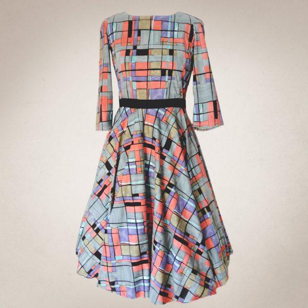 Frau Lux Vintage – rockiges 50's Kleid kariert