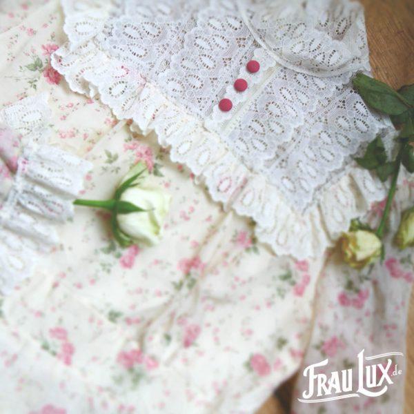 Frau Lux Vintage – Kleid im Countrystil mit Spitze