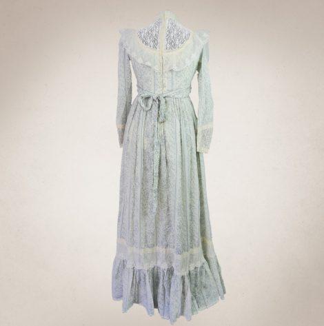 Frau Lux Vintage, Romantisch, Kleid, Spitzenkleid, Countrystil