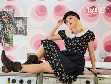 Frau Lux Vintage Lookbook Vintagemode 2018