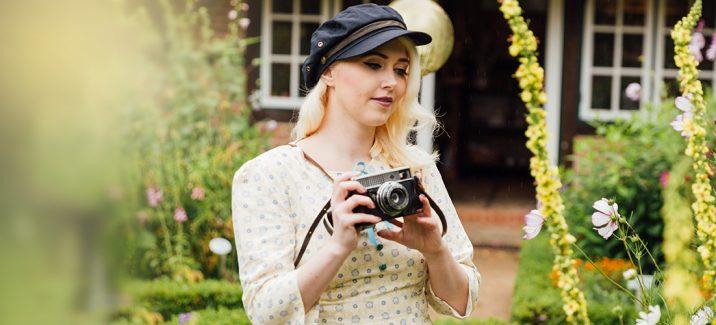 Frau Lux Vintage, Vintagekleider, Vintage Kleid mit Geschichte