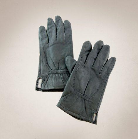 Frau Lux Vintage – anthrazitfarbende Lederhandschuhe