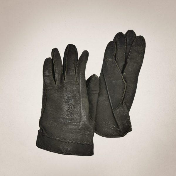 Frau Lux Vintage, Damenhandschuhe, Lederhandschuhe