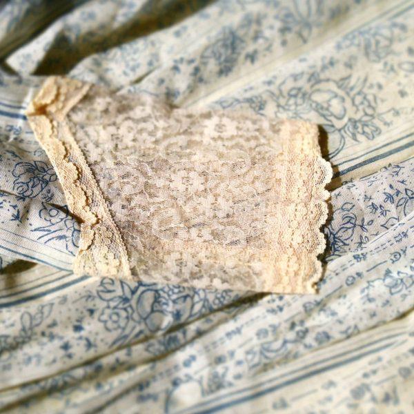 Vintage Kleid, Böhmer Spitze, Frau Lux Vintage