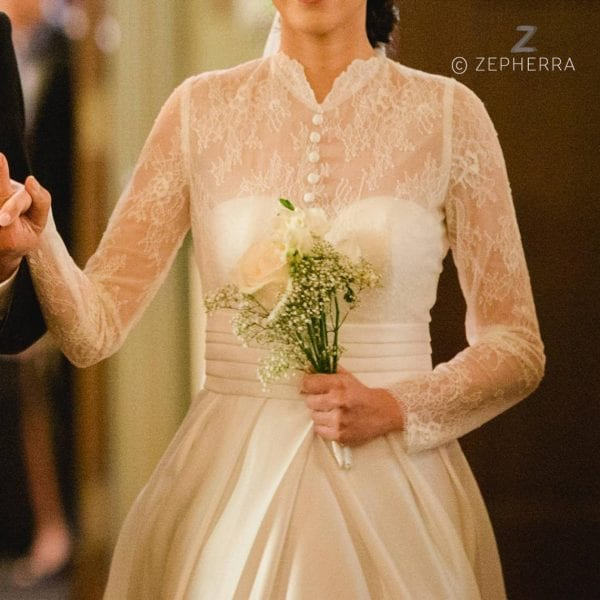 Grace Kelly – Hochzeitskleid