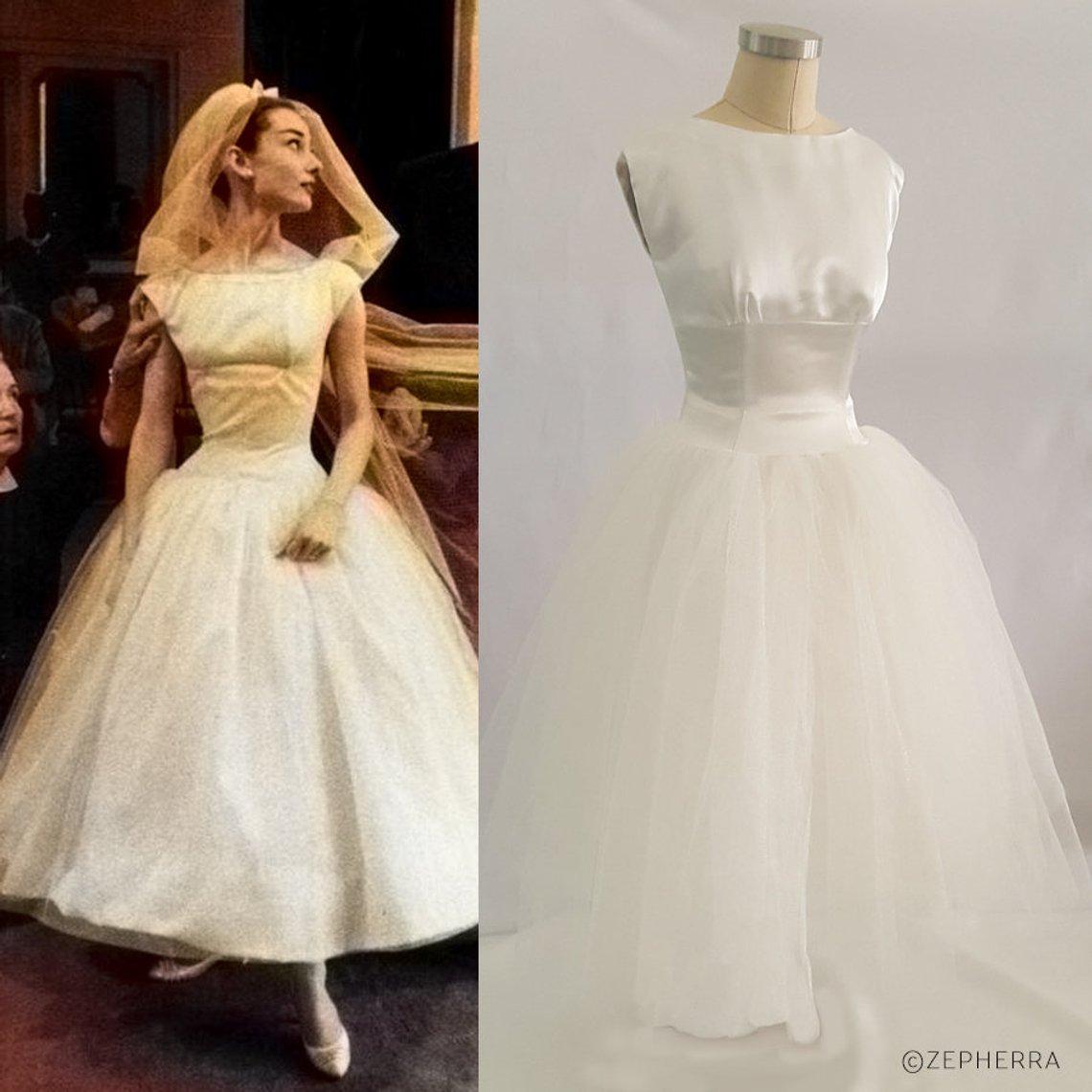 Audrey Hepburn Hochzeitskleid – Funny Face
