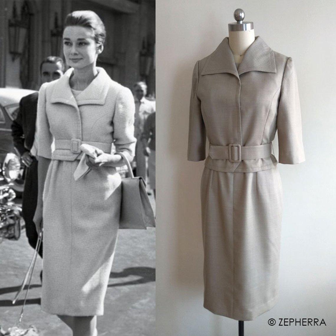 audrey hepburn – 60er jahre kostüm