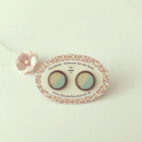 Ohrringe aus Holz von Florabella