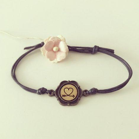 Herz mit Pfeil, Armband von Florabella